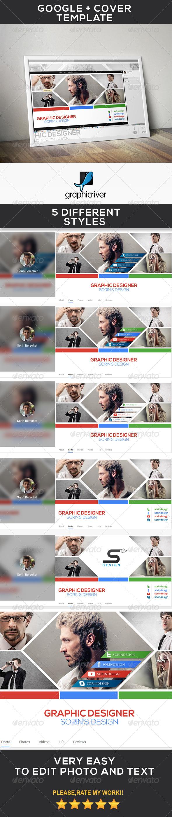 Modern Google Plus Cover - Miscellaneous Social Media