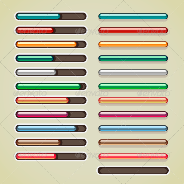 Colorful Bars for Games - Web Technology
