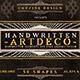 Handwritten Artdeco Elements v.1 - GraphicRiver Item for Sale