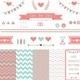 Set of Elements for Wedding Design - GraphicRiver Item for Sale