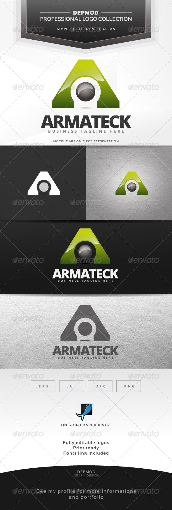 Armateck Logo - Letters Logo Templates