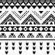 Tibal Seamless Pattern Black Aztec Print - GraphicRiver Item for Sale