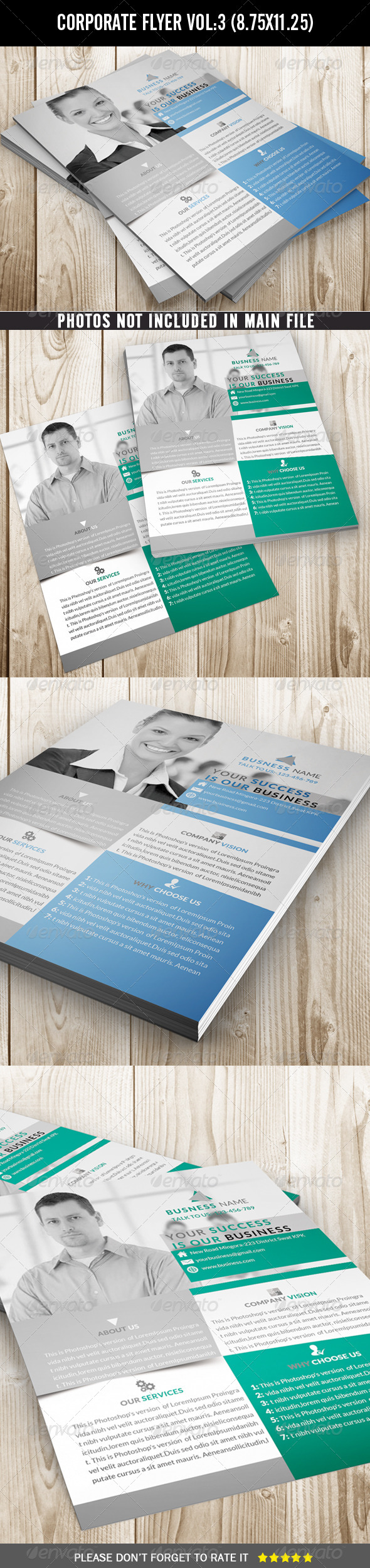 Corporate Flyer (Clean and Simple) - Corporate Flyers