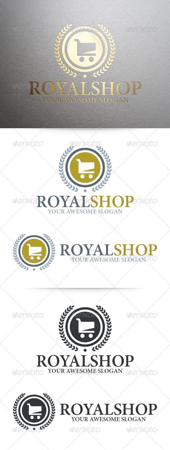 Royal Shop Logo Template - Symbols Logo Templates