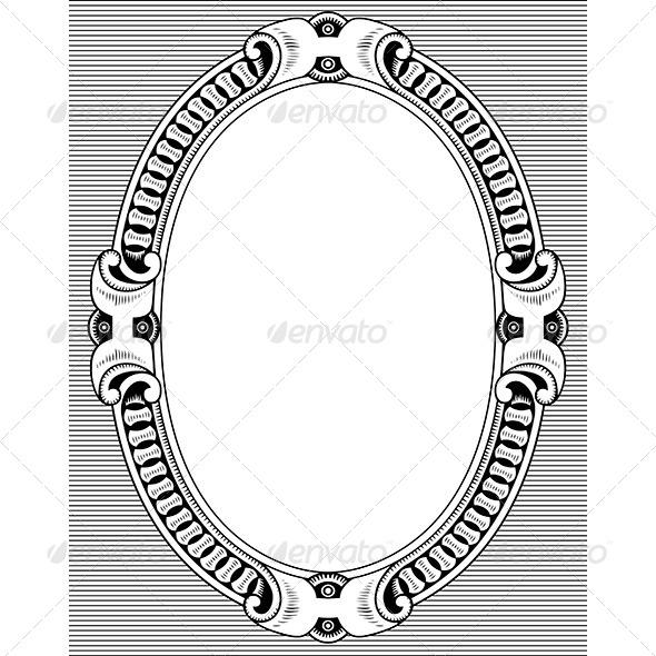 Elegance Frame - Patterns Decorative