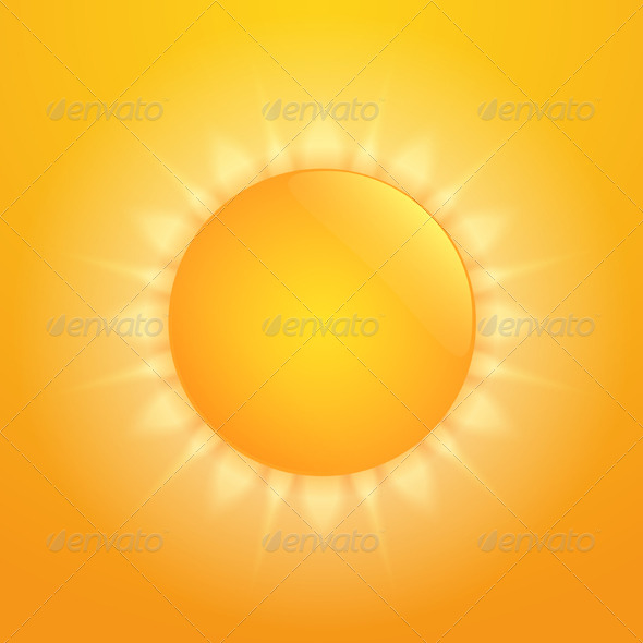 Hot Sun - Nature Conceptual