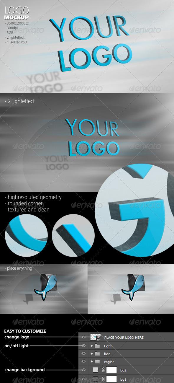 Dynamic Logo Mockup - Logo Product Mock-Ups
