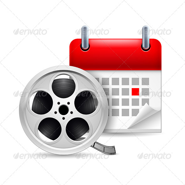 Film Reel and Calendar - Miscellaneous Vectors