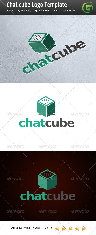 ChatCube - Symbols Logo Templates