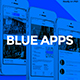 Blue Apps - Directory User Interface Kit - GraphicRiver Item for Sale