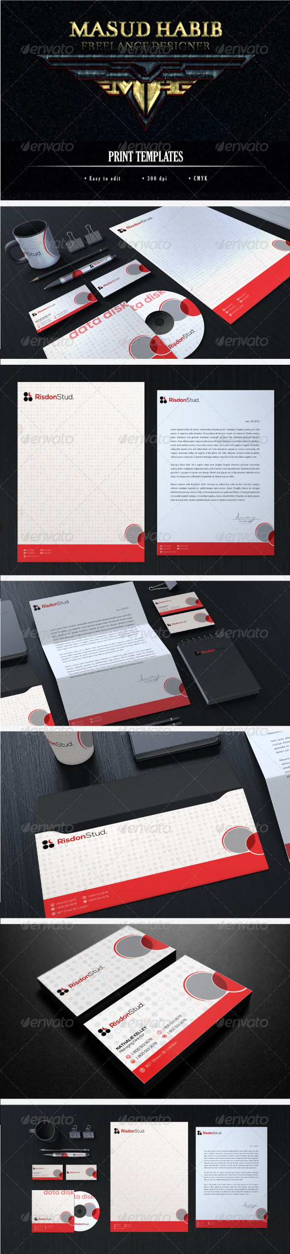 Creative Corporate Identity 18 - Stationery Print Templates