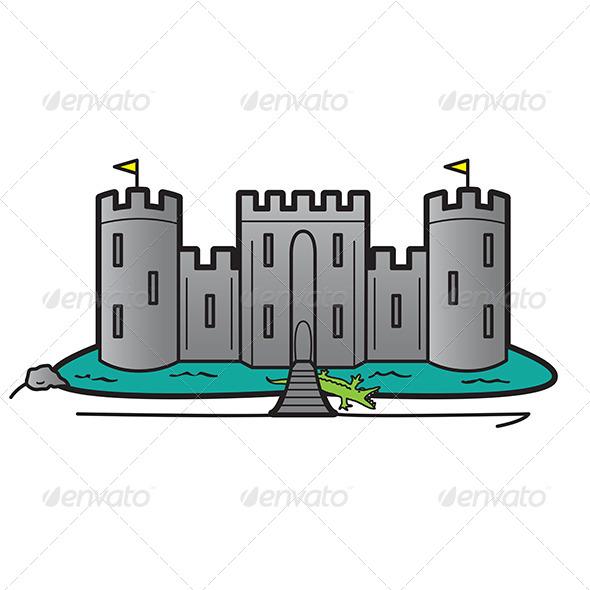 Castle Home Security System Concept - Miscellaneous Conceptual