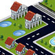 Rural Town - GraphicRiver Item for Sale