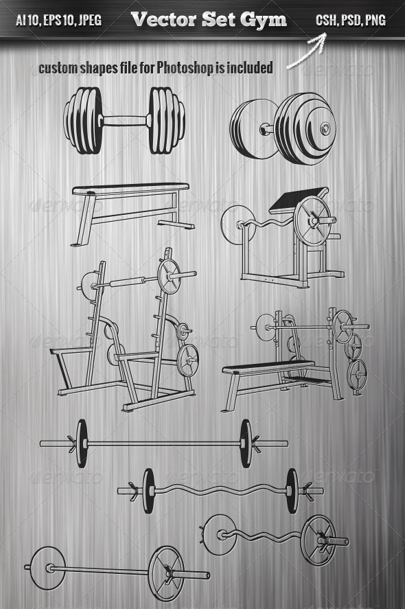 Gym Set - Man-made Objects Objects