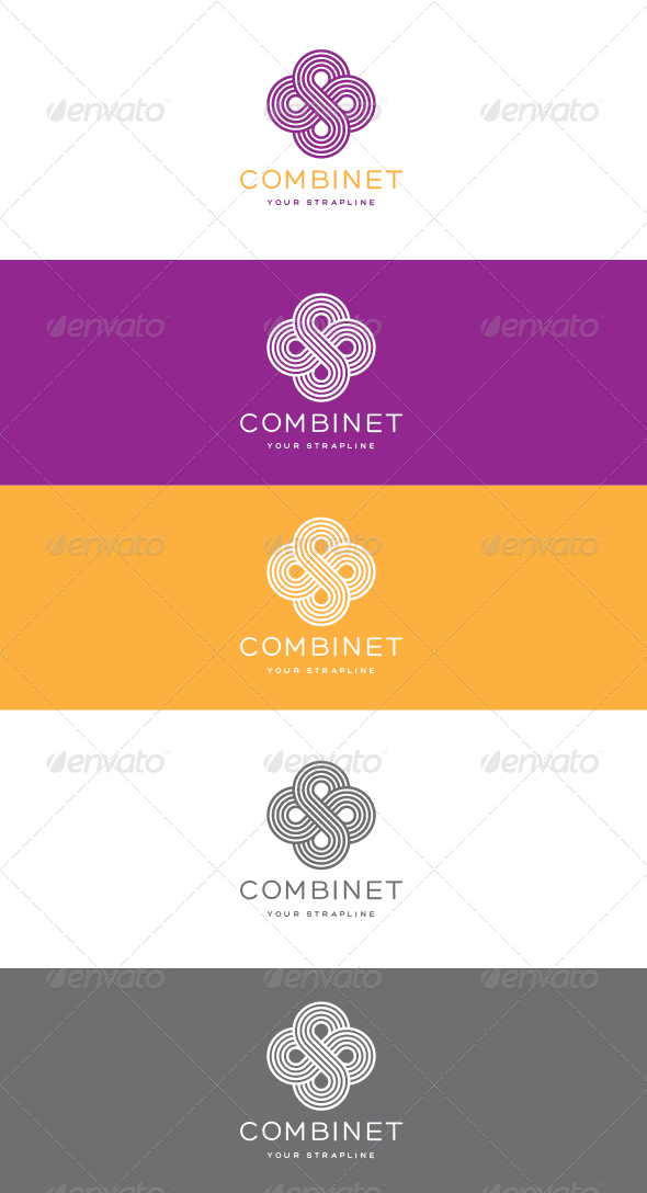 Combinet Logo - Vector Abstract