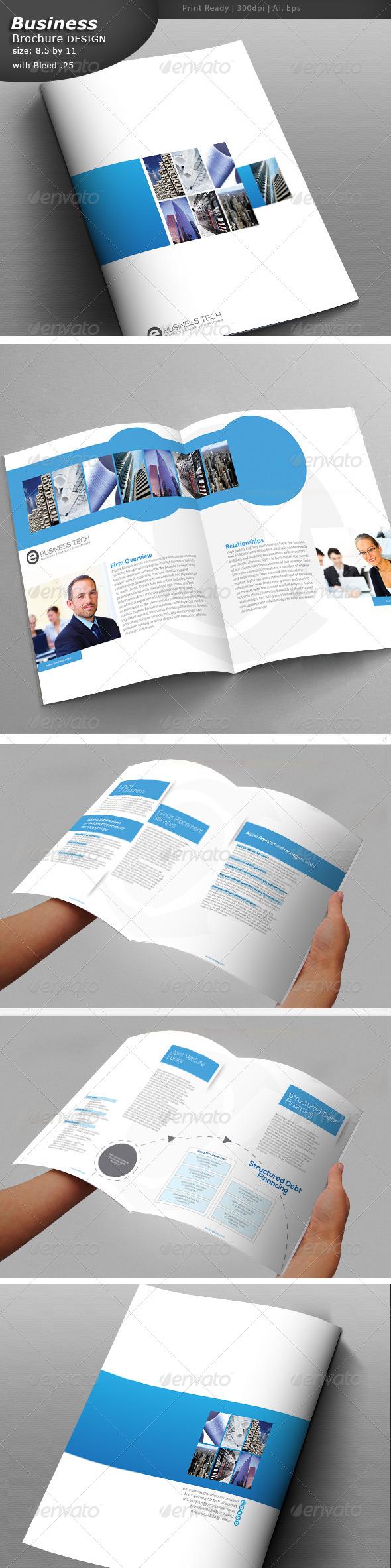 A4 Corporate Brochure  - Brochures Print Templates