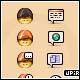 dippycap ICQ icon set - GraphicRiver Item for Sale