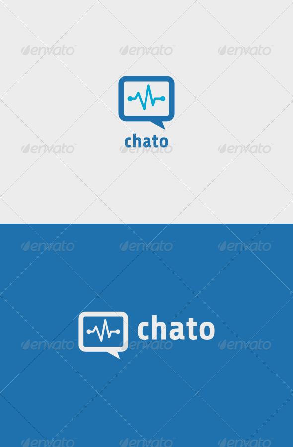 Chato Logo - Vector Abstract