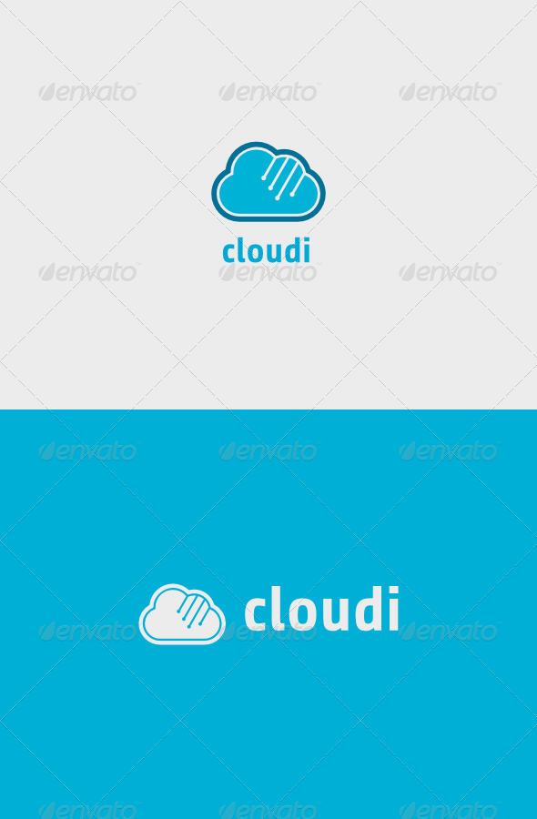 Cloudi Logo - Objects Logo Templates