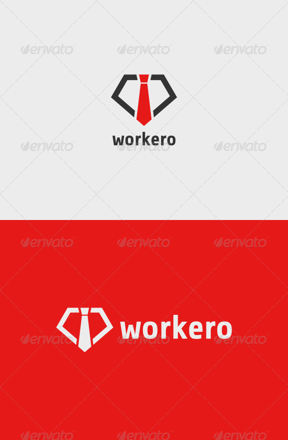 Workero Logo - Objects Logo Templates