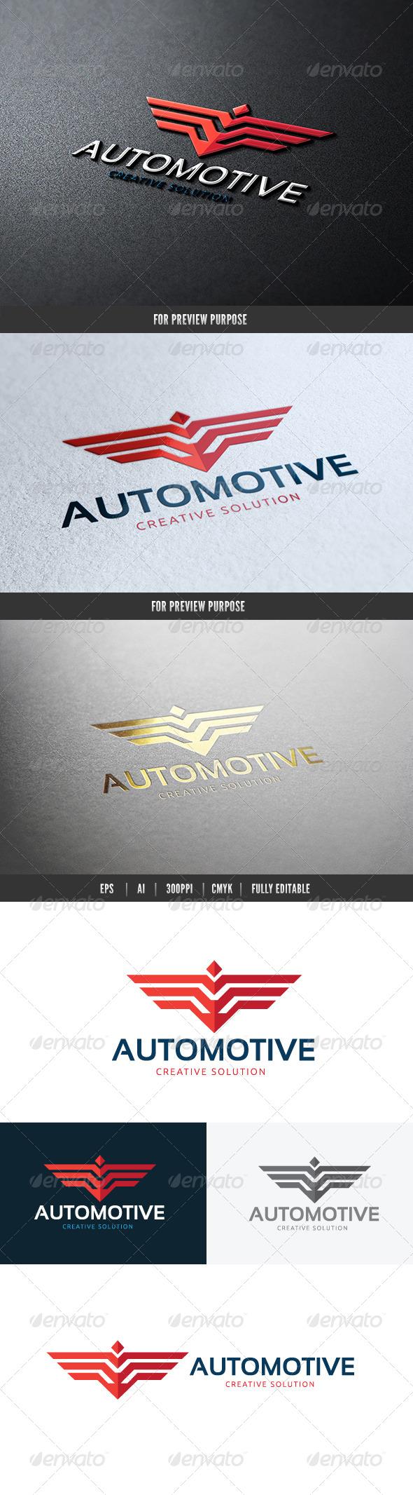 Automotive Creative Solution Logo - Animals Logo Templates