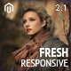 Fresh - Responsive Magento Theme Nulled
