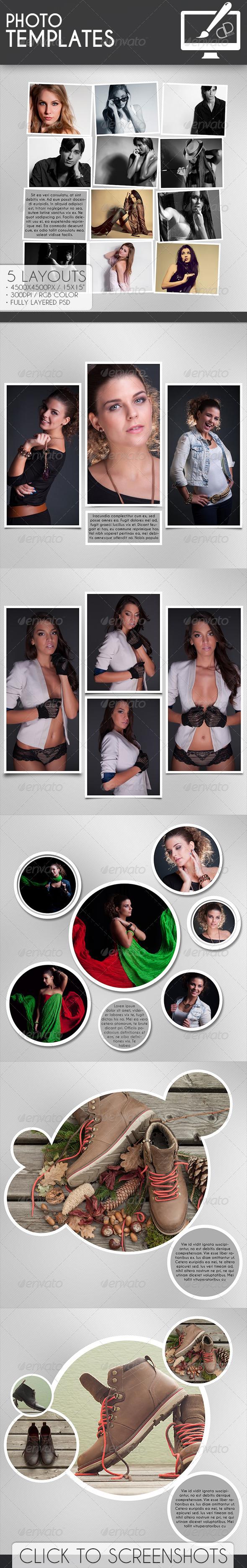 Photo Templates - Photo Templates Graphics