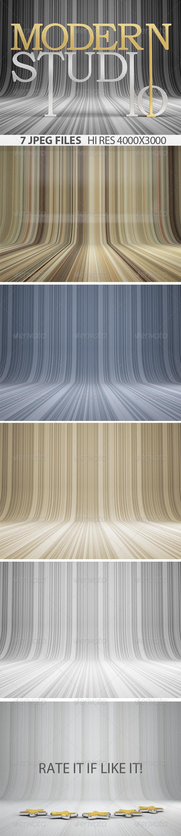Modern Studio Background - 3D Backgrounds