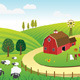 Farm Landscape - GraphicRiver Item for Sale