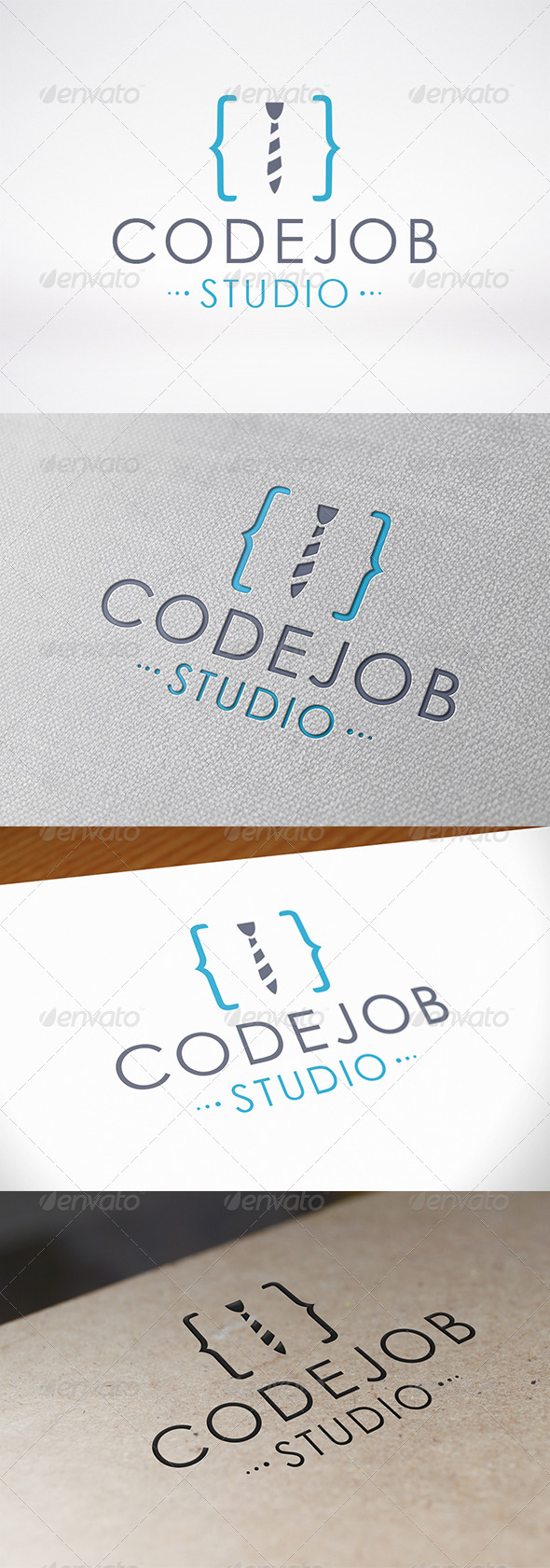 Code Job Logo - Symbols Logo Templates