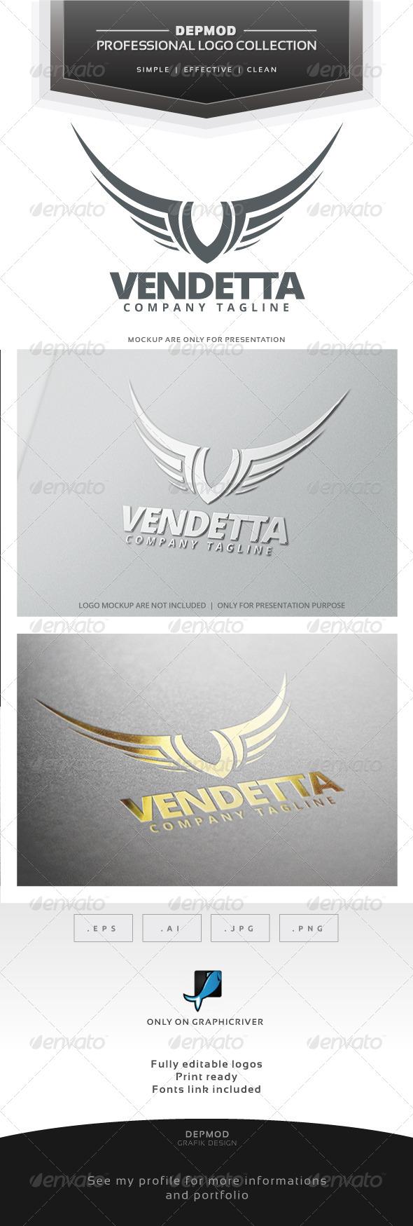 Vendetta Logo - Letters Logo Templates