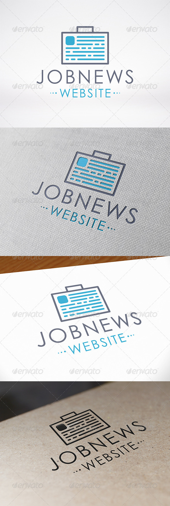 Job News Logo Template - Objects Logo Templates