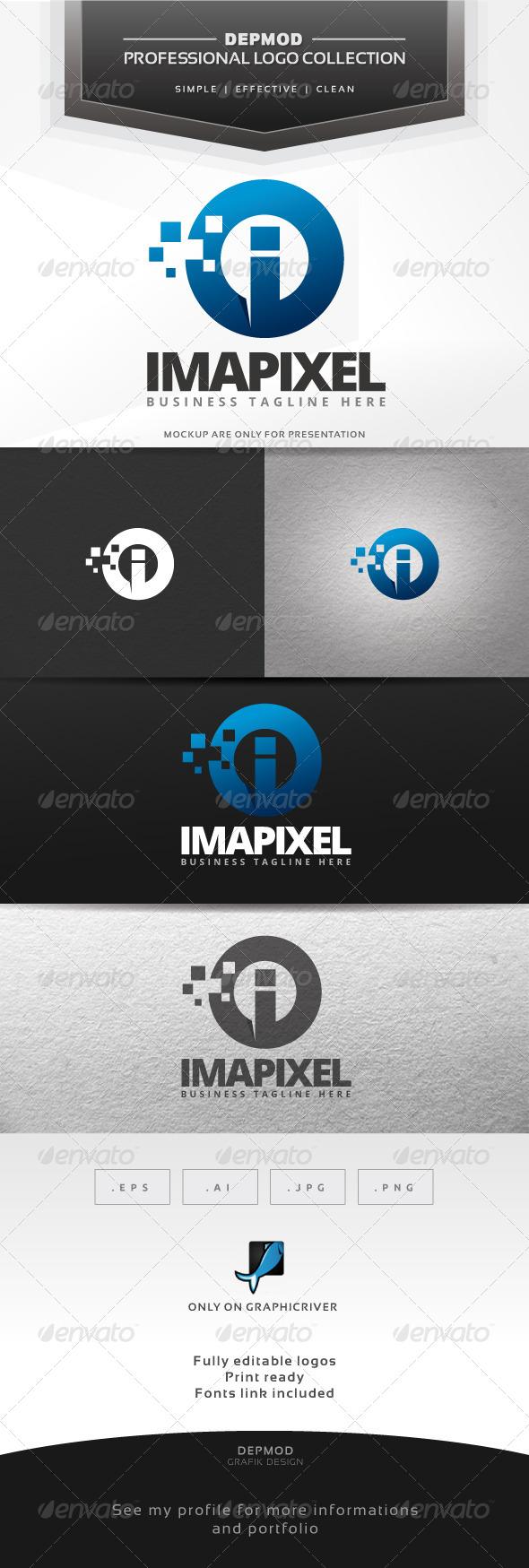 Imapixel Logo - Letters Logo Templates
