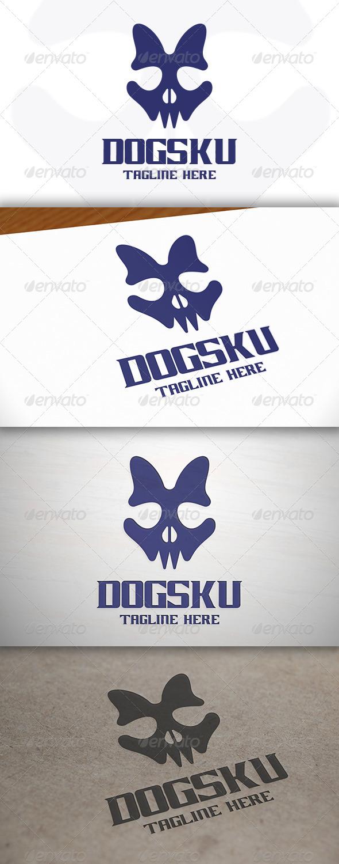 Dog Skull Logo - Symbols Logo Templates