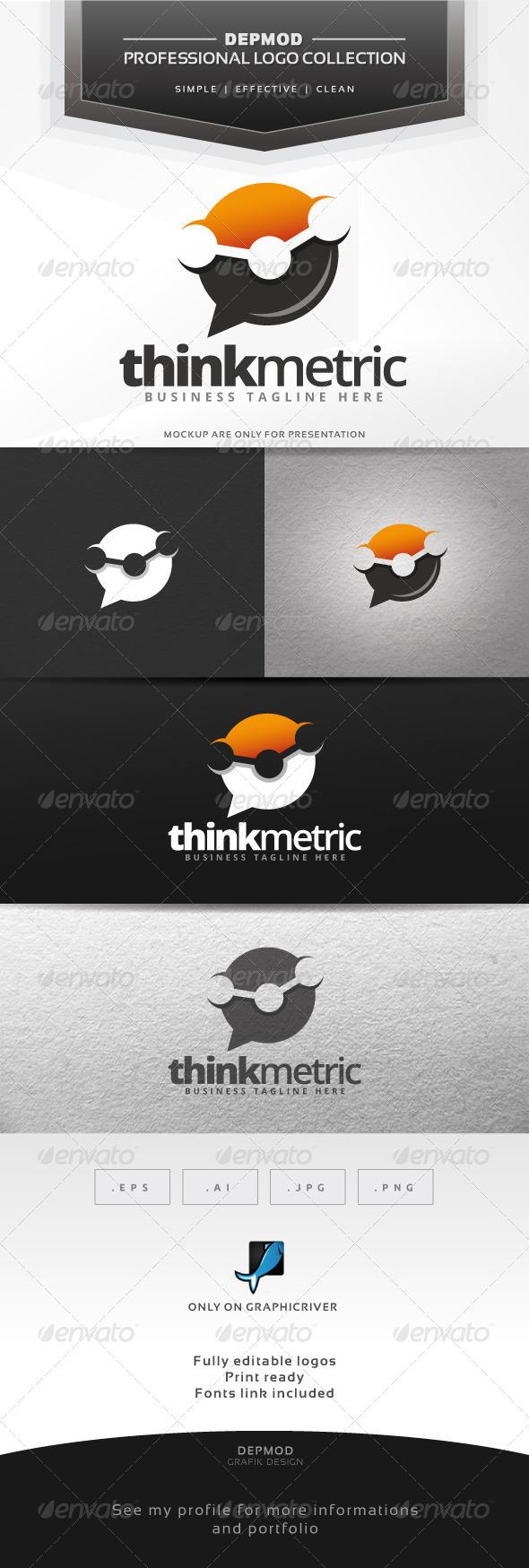Think Metric Logo - Symbols Logo Templates