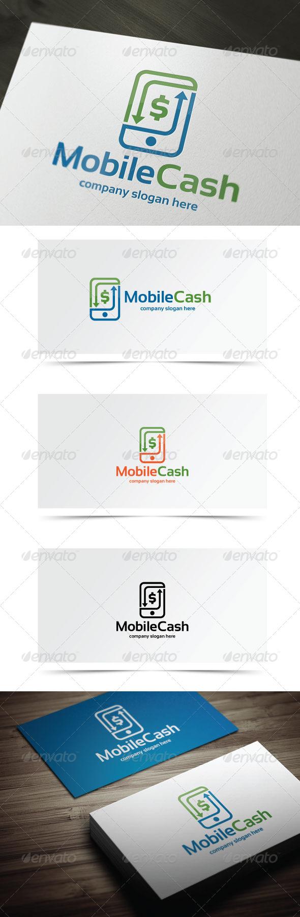Mobile Cash - Symbols Logo Templates