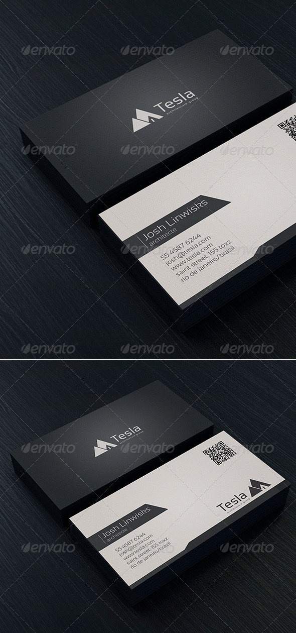 Minimal Business Card Vol. 01 - Corporate Business Cards