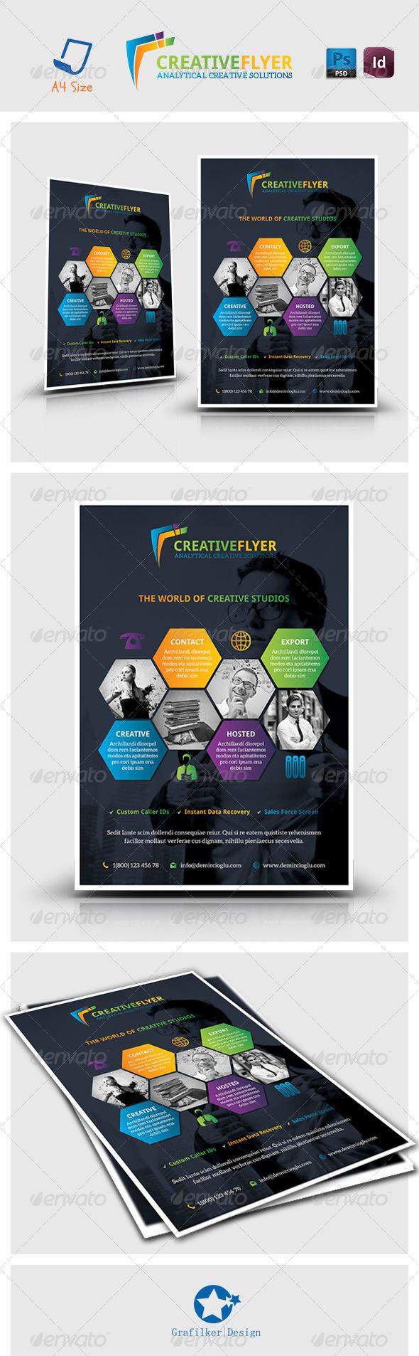 Creative Studio Flyer Templates - Corporate Flyers