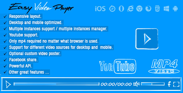 Easy Video Player - CodeCanyon Item for Sale
