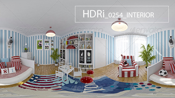0254 Interoir HDRi - 3DOcean Item for Sale