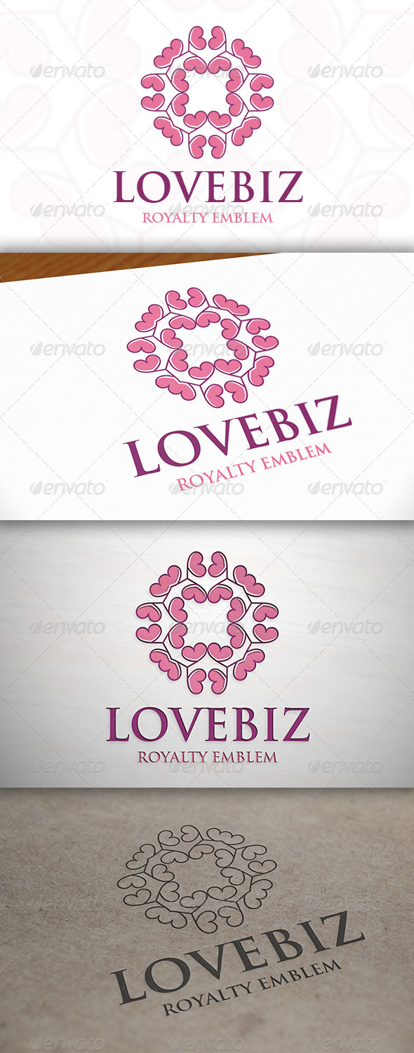 Love Crest Logo - Crests Logo Templates