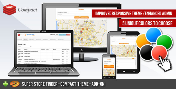 Compact Theme - Super Store Finder nulled free download