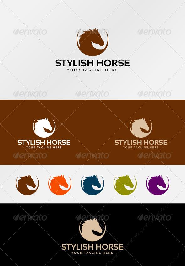 Stylish Horse - Animals Logo Templates