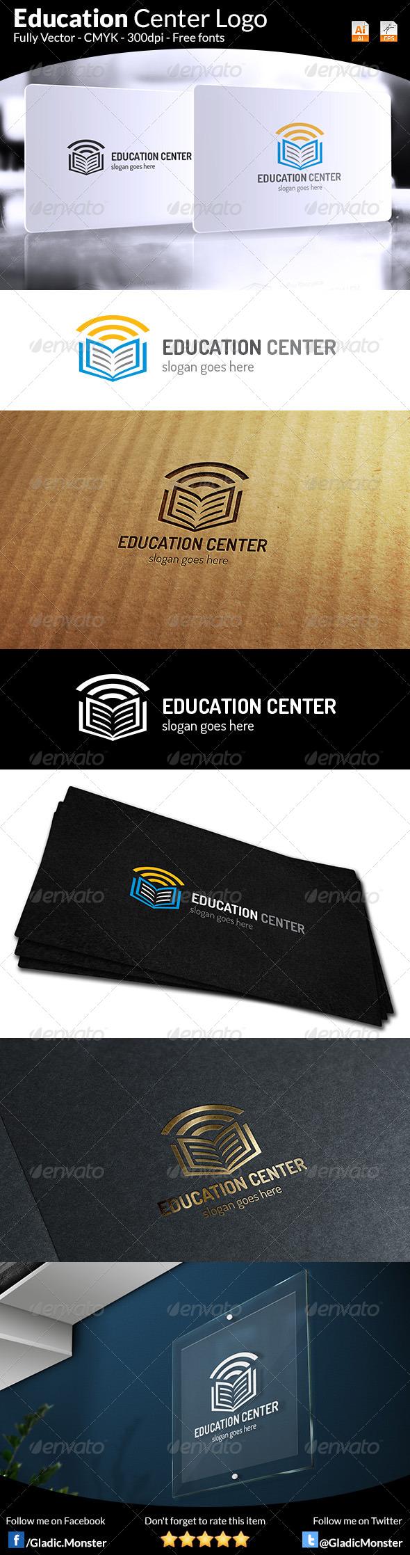 Education Center Logo - Symbols Logo Templates