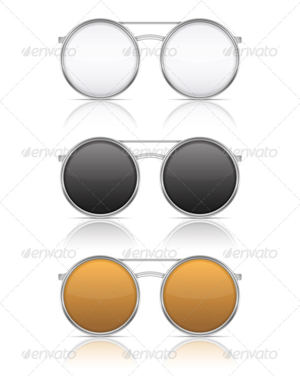 Glasses - Objects Vectors