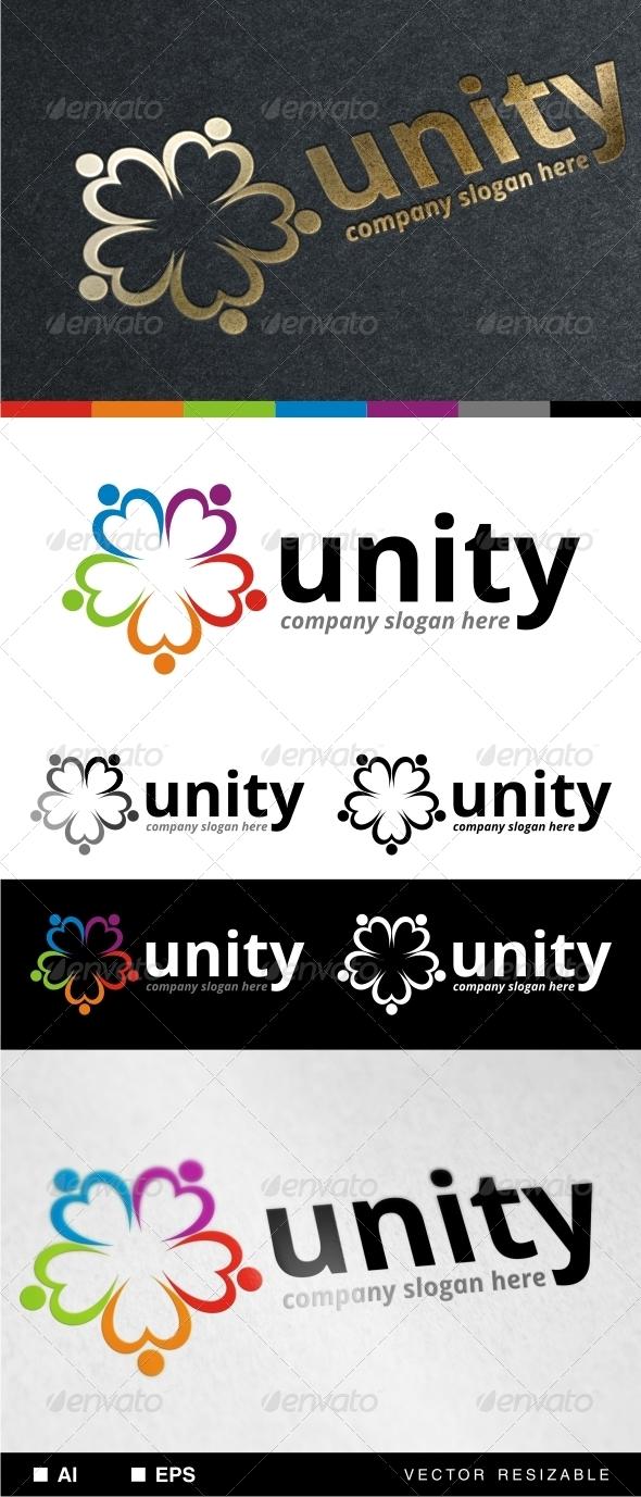 Unity Logo Template - Symbols Logo Templates
