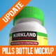 Tablets, Vitamins and Pills Bottle Mockup - GraphicRiver Item for Sale