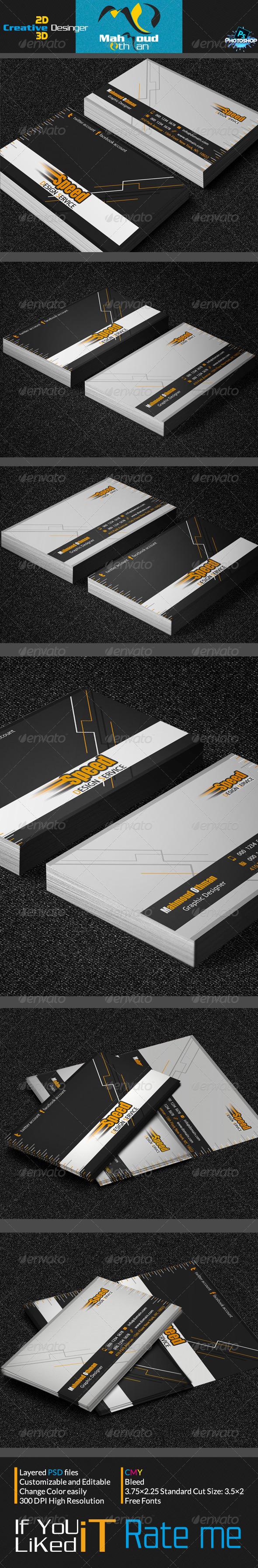 Car Business Card V06 - Creative Business Cards