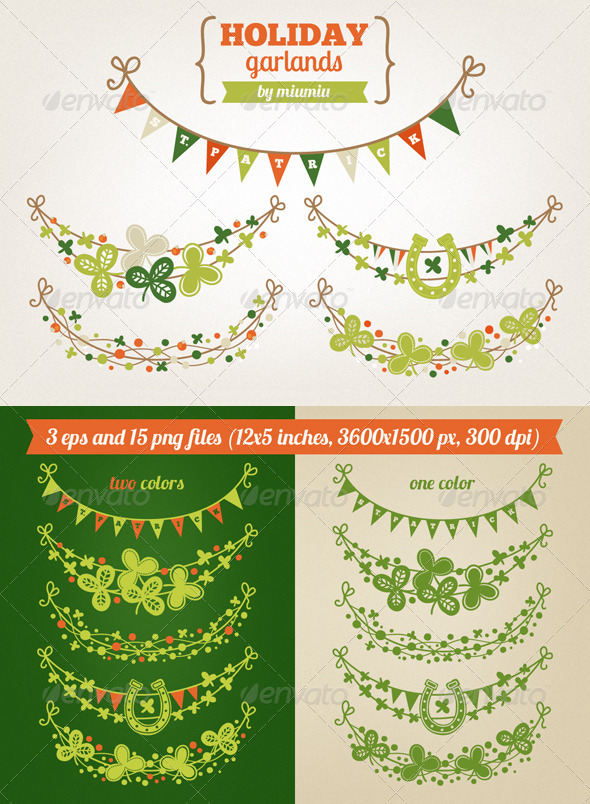 Holiday Garlands - Miscellaneous Seasons/Holidays