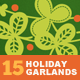 Holiday Garlands - GraphicRiver Item for Sale
